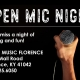 Open Mic Night Don't miss a night of singing and fun! Willis Music Florence Mall Rad Florence, KY 41042 859-525-6050