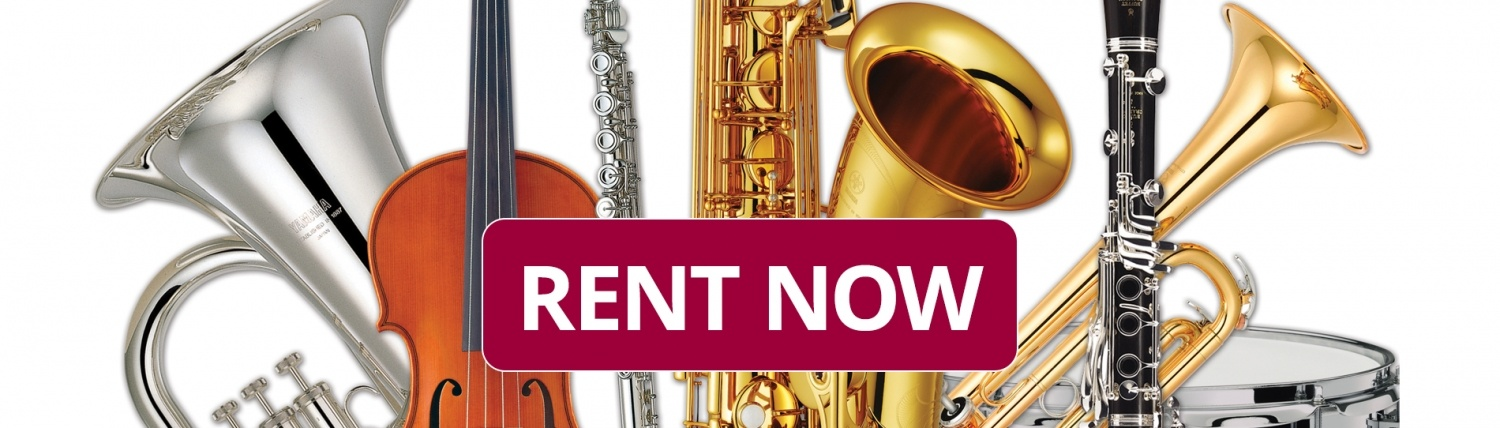 Rent now image to rent an instrument