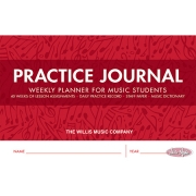 Practice Journal – Weekly Planner For Music Students