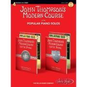 John Thompson's Modern Course plus Popular Piano Solos 4 BKS IN 1 & CD