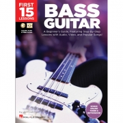 First 15 Lessons Bass Guitars