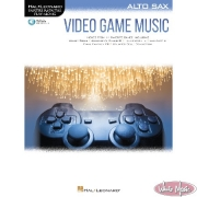 Video Game Music – Alto Sax Book with Audio Access