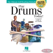 Play Drums Today! All-In-One Beginner's Pack Levels 1-2 Book with Audio & Video Access