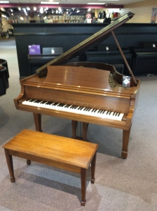 """Consignment Steinway M (5'7"""") grand piano"""