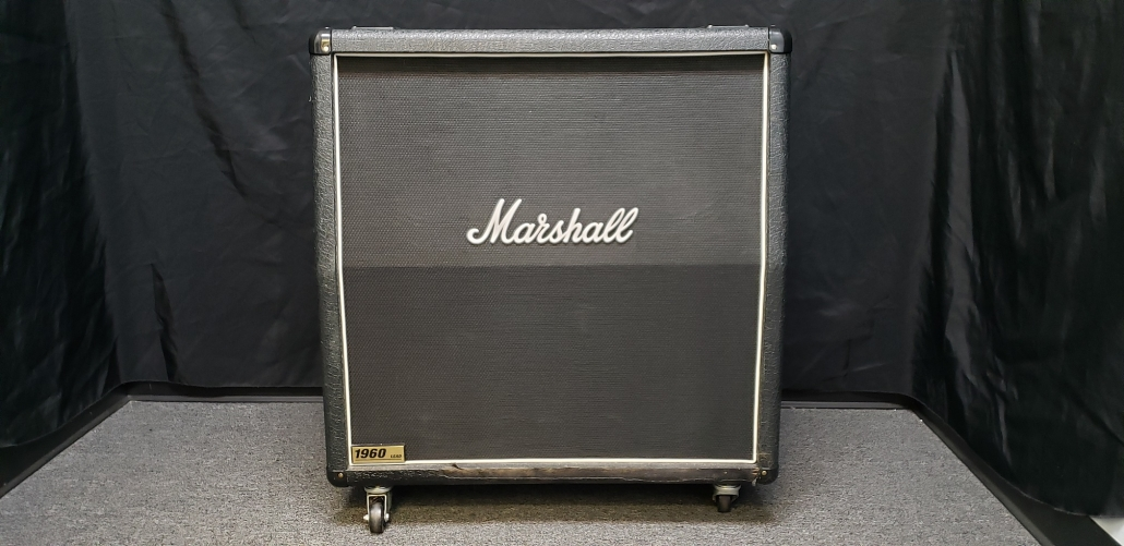 Preowned Marshall 1960A 4×12 Cabinet Serial Number M20144504340