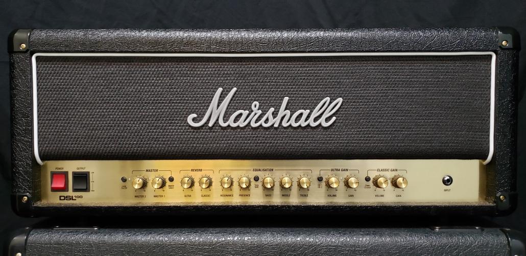 Preowned Marshall DSL100 Head Serial Number V010CF2E9U