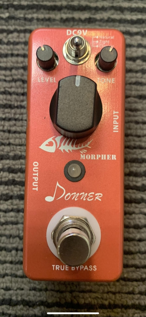 Used Donner Morpher High Gain Distortion Pedal