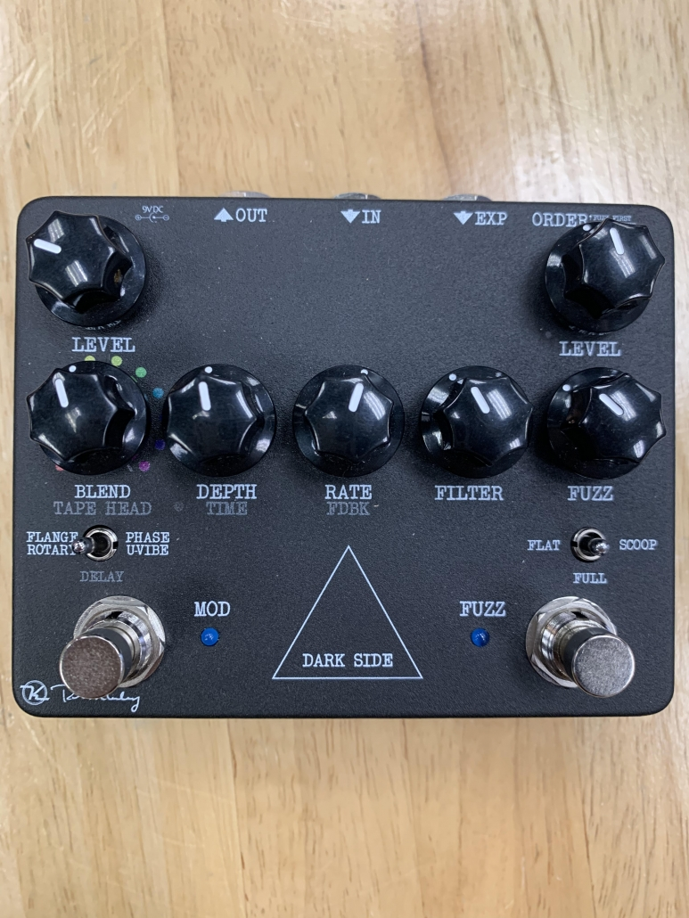 Used Keeley Dark Side Workstation Multi-Effects