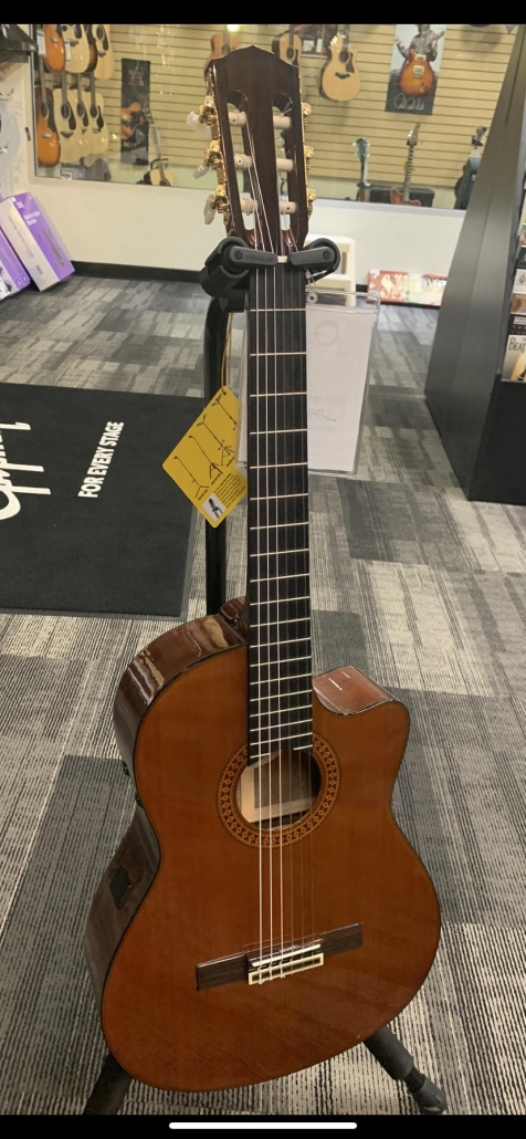 Used Fender 2100CX Classical Guitar w/ electronics
