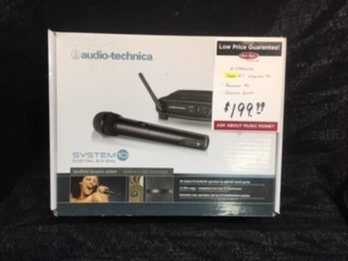 Used Audio Technica System 10 Wireless Handheld Microphone