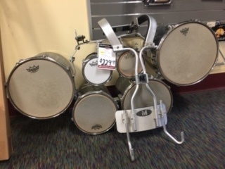 Used Pearl Marching Tenors w/ Carrier