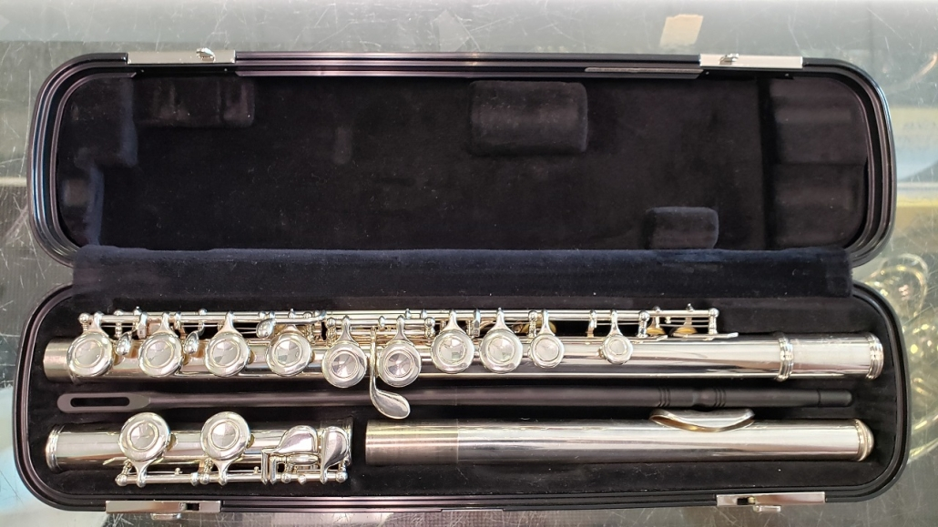 Preowned Yamaha YFL200AD Student Flute 83275