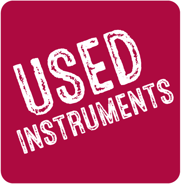 Used Instruments button to go to used instrument page
