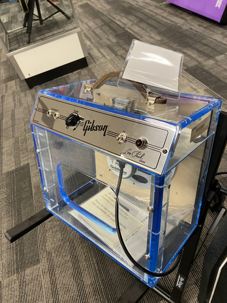 Used Gibson See-Through Plexi Glass Amp Limited Edition